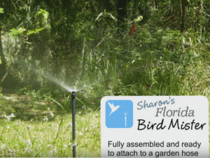 Bird Mister - Easy Hose Connect – Fully Assembled – Birds Love It!