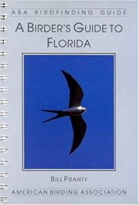 book cover page for Bill Pranty's book A Birder's Guide to Florida