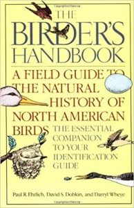 The Birder's Handbook: A Field Guide to the Natural History of North American Birds.