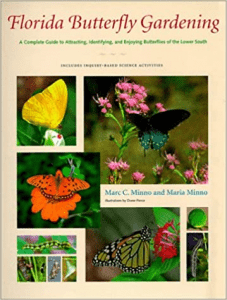 Florida Butterfly Gardening cover page for Marc and Maria Minno's book